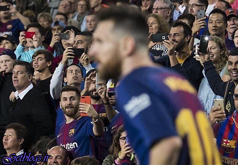 تصویری جالب از مسی و بدل ایرانیاش در بازی بارسلونا و مالاگا