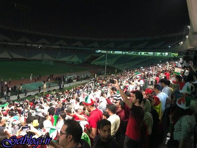 هیچ مشکلی جهت تماشای مسابقه کشور عزیزمان ایران و پرتغال در ورزشگاه آزادی وجود ندارد