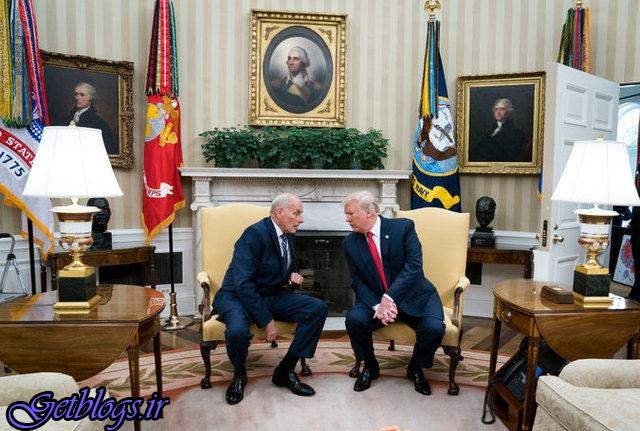 ترامپ از جان کلی خواست تا ۲۰۲۰ مدیر دفتر کاخ سفید بماند