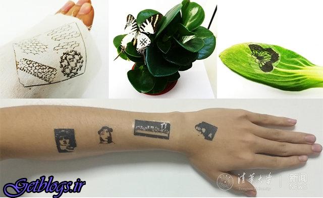 پوست الکترونیکی مانند تتو مبتنی بر گرافین