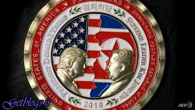 آمریکا جهت نشست کیم–ترامپ سکه یادبود ضرب کرد