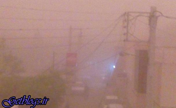 تصاویر) + طوفان شن یزد را با خود برد (