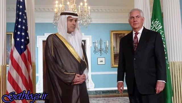 با تیلرسون در مورد کشور عزیزمان ایران صحبت کردم / وزیر خارجه عربستان