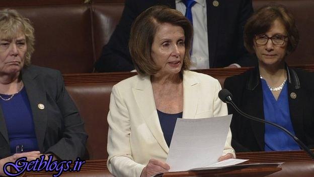 صحبت ۸ ساعته نانسی پلوسی در مجلس آمریکا!
