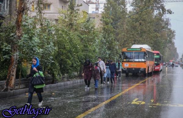 آینده نگری بارش پراکنده طی سه روز آینده ، خبر خوش هواشناسی جهت تهرانی ها
