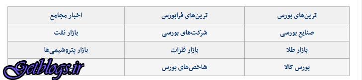 فنر جهش بورس پایتخت کشور عزیزمان ایران