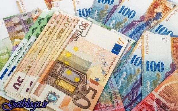 زیاد کردن قیمت یورو و پوند ، کاهش قیمت ۱۵ ارز