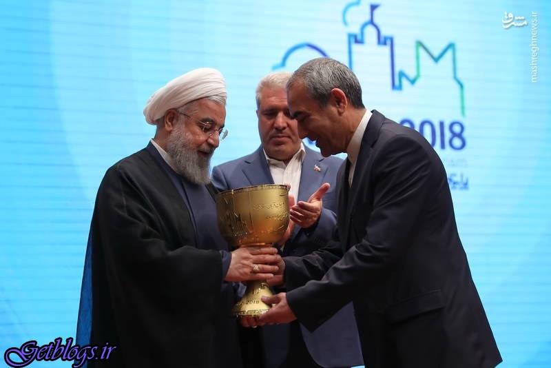 حضور روحانی در افتتاحیه مناسبت بینالمللی تبریز