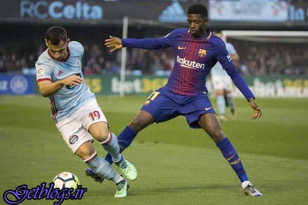 آبی اناریها همچنان شکست ناپذیر ، بارسلونا برابر سلتاویگو متوقف شد