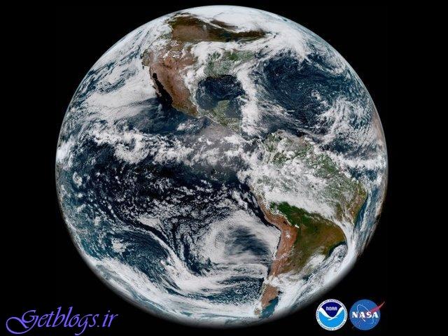 تصویر خیره کننده از زمین به وسیله ماهواره هواشناسی GOES-17