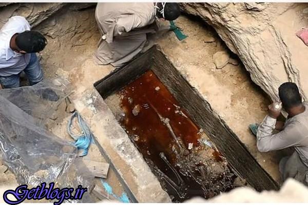 درخواست جنجالی بازدیدکنندگان اینترنت جهت نوشیدن آب استخوان مقبره باستانی مصر