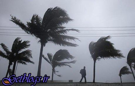 وزش باد شدید در ۹ استان ، بارش پراکنده در ۶ استان