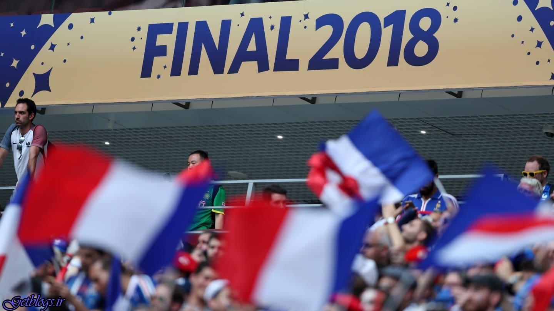 مراسم نهایی جام جهانی ۲۰۱۸ روسیه ، گزارش تصویری