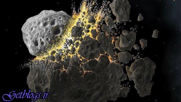 بررسی منشاء شکلگیری سیارکهای موجود در کمربند سیارکها