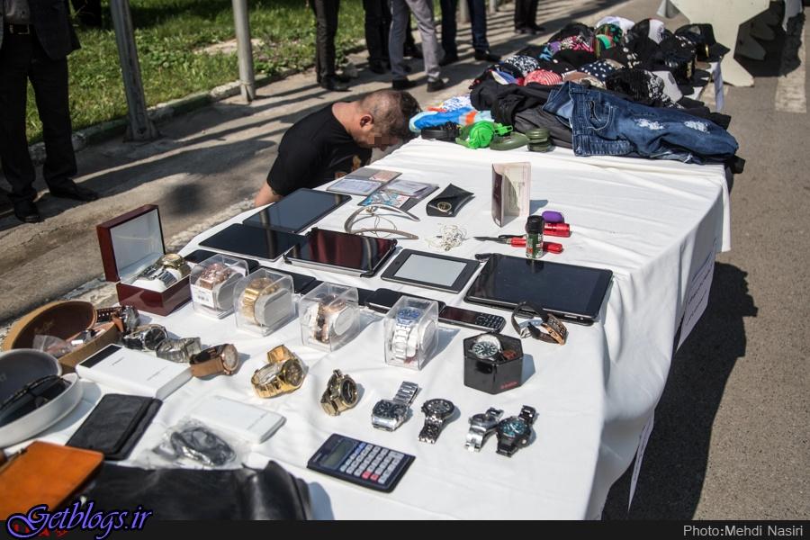 تصاویر) + دستگیری ۱۴۰ سارق و زورگیر حرفهای (