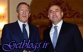 رایزنی وزرای خارجه روسیه و ترکیه راجع به سوریه