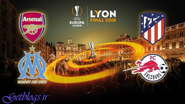 تقابل آرسنال و اتلتیکو در نیمه نهایی لیگ اروپا