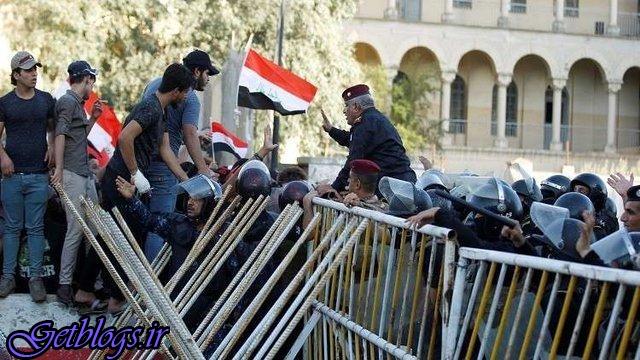 افزایش تعداد کشتهشدگان اعتراضات عراق به ۱۱ تن