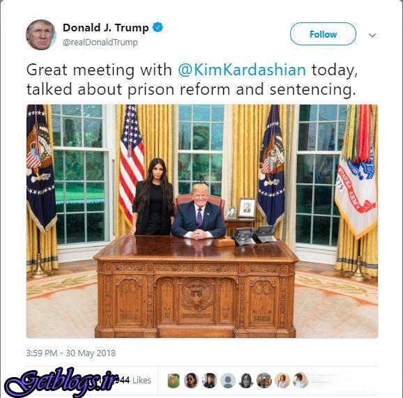 حسادت ملانیا ترامپ به کیم کارداشیان؟!