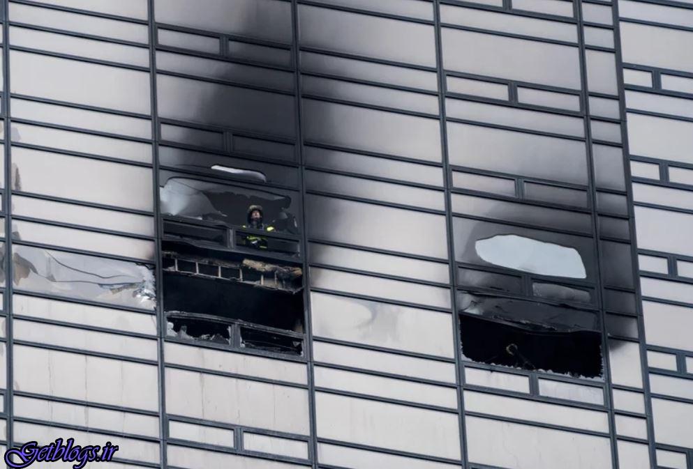 آتشسوزی مرگبار در برج ترامپ با یک کشته و ۶مجروح