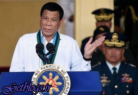 پیشنهاد دوترته به شورشیان مجموعه جزایر فیلیپین جهت مذاکرات صلح ۶۰ روزه