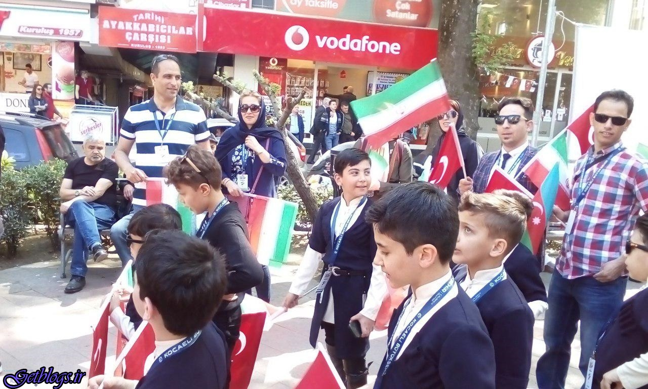 فستیوال جهانی کودک در شهر ازمیت کوجیلی ترکیه