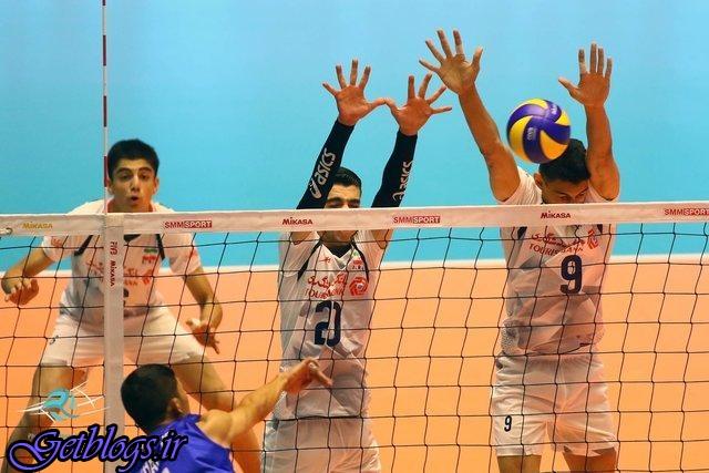 نوجوانان والیبال کشور عزیزمان ایران جهانی شدند , ایران ۳ - هند صفر