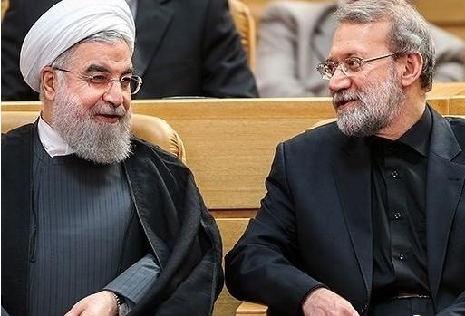 «شیخ دیپلمات» همچنان در نظرسنجی ها در صدر است ، روایت بلومبرگ از حمایت یک اصولگرای بانفوذ از روحانی