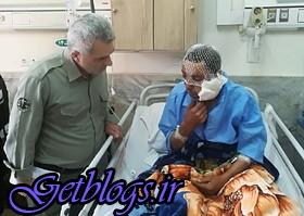 عکس) + آخرین اوضاع چوپان آسیبدیده براثر حمله پلنگ (