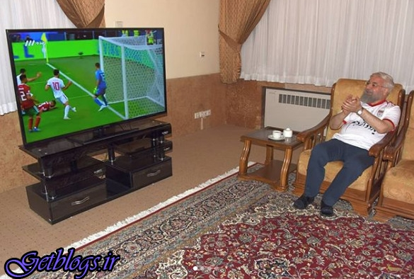 عکس) + حسن روحانی پیروزی تیم ملی کشور عزیزمان ایران را تبریک گفت (