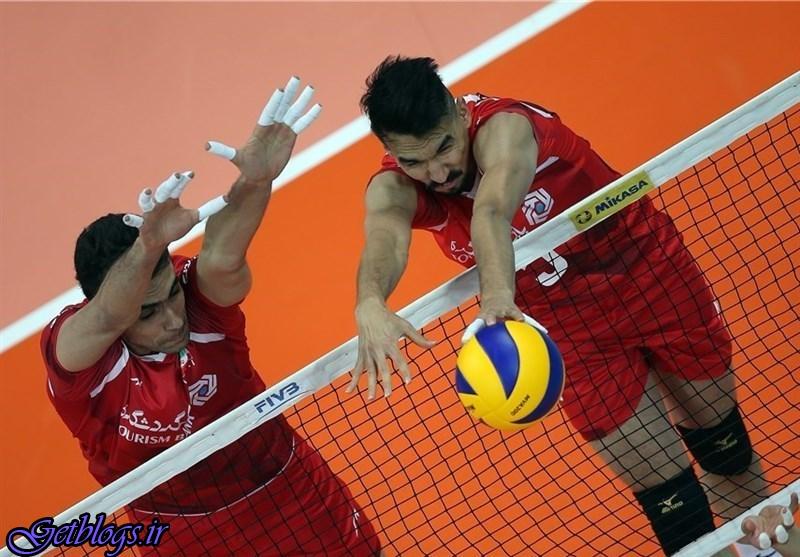 برتری قاطع والیبال کشور عزیزمان ایران برابر چین