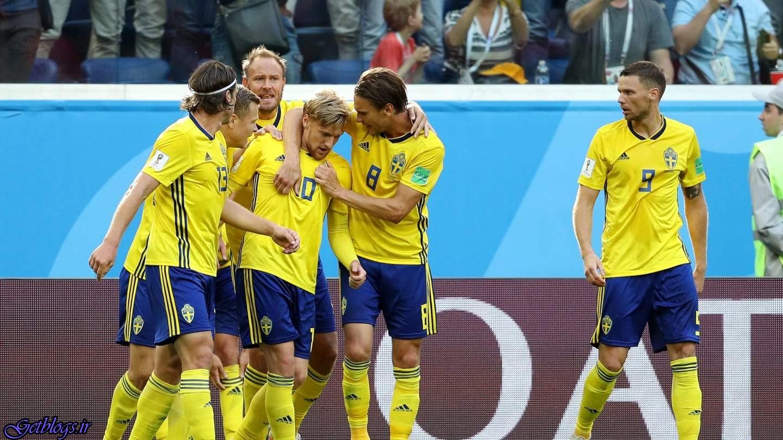 سوئد با برتری برابر سوئیس به یک چهارم نهایی افزایش کرد