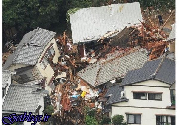 تلفات سیل در ژاپن به ۱۰۰ تن رسید