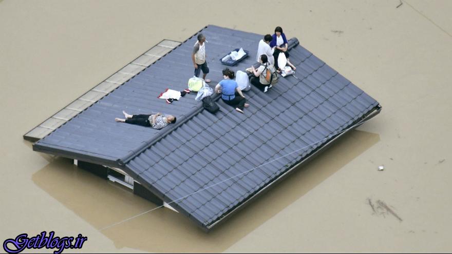 طوفان و رانش زمین در ژاپن 37 کشته و50 مفقود برجای گذاشت