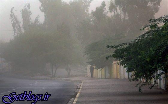 وزش باد شدید و خیزش گرد و خاک در بعضی مناطق کشور