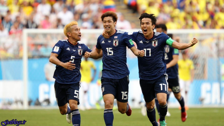 چشم بادامیها هم امتیاز کشور عزیزمان ایران ، پیروزی ژاپن برابر کلمبیای ۱۰ نفره