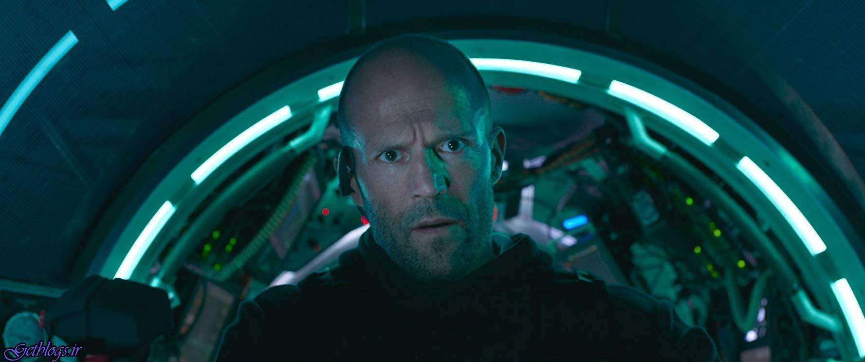 کشف هیولایی عجیب در ایستگاه تحقیقاتی آبی , فیلم سینمایی «مگ» با بازی جیسون استاتام