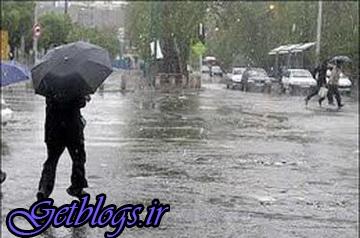 غبارآلود شدن هوای بعضی مناطق ، استمرار فعالیت سامانه بارشی در کشور تا سه روز آینده