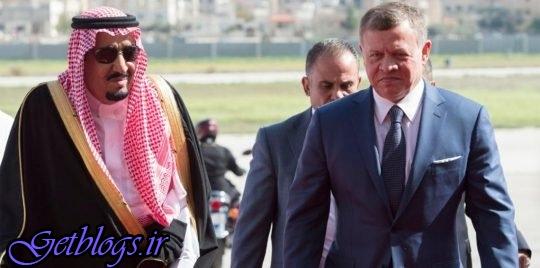 پادشاه عربستان خواستار نشست چهارجانبه راجع به اردن شد