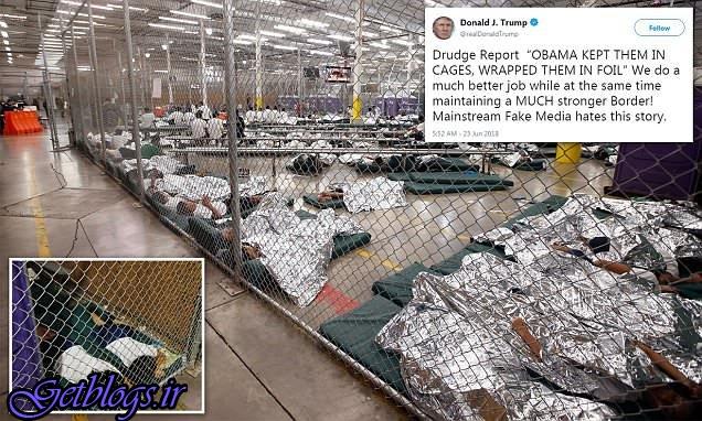 عملکرد ما راجع به کودکان مهاجر بهتر از اوباما است / ترامپ