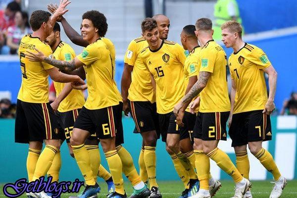 بلژیک با شکست انگلیس به مقام سوم رسید